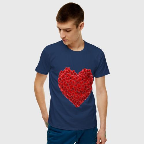 Мужская футболка хлопок Любовь Фото 01