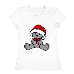 Мишка в новогодней шапке - интернет магазин Futbolkaa.ru