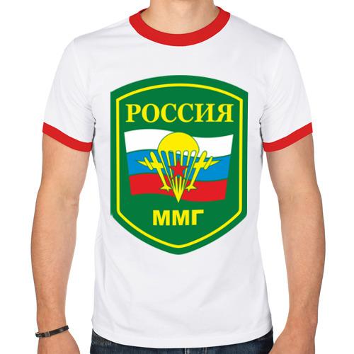 Мужская футболка рингер  Фото 01, ММГ