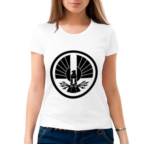 Женская футболка хлопок  Фото 03, Голодные игры
