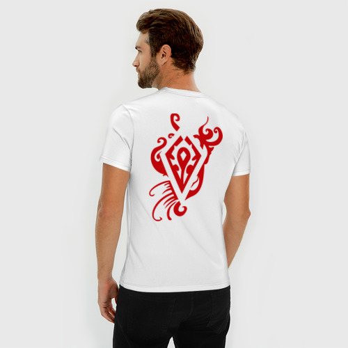 Мужская футболка премиум horde red Фото 01