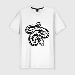 Силуэт змеи