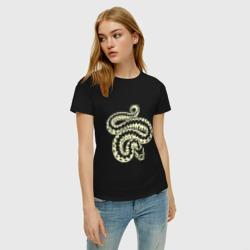 Силуэт змеи (свет)