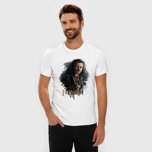 Мужская футболка премиум  Фото 03, Бард Лучник