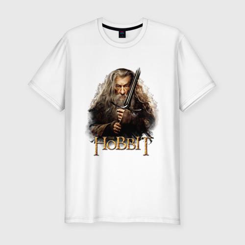Мужская футболка премиум  Фото 01, Гендальф