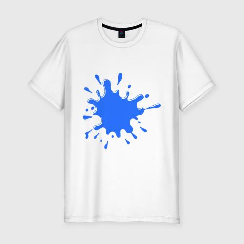 Мужская футболка премиум  Фото 01, Чернильная клякса