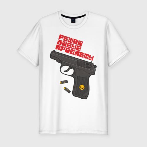 Мужская футболка премиум  Фото 01, Решаю любые проблемы
