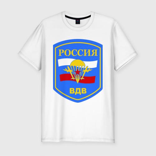 Мужская футболка премиум  Фото 01, ВДВ