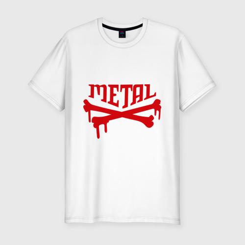 Мужская футболка премиум  Фото 01, Metal (Металл)