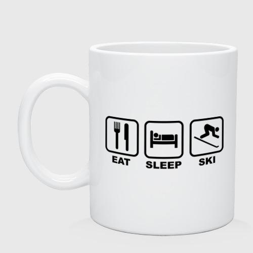 Eat Sleep Ski (Еда, Сон, Лыжи)