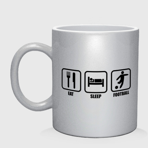 Eat Sleep Football (Еда, Сон, Футбол)