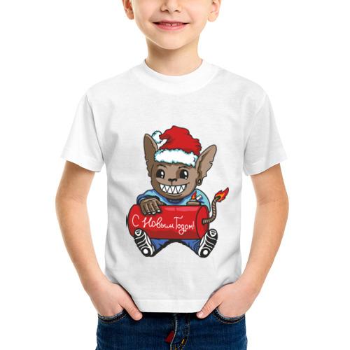 Детская футболка синтетическая Ну что? Бабахнем? от Всемайки