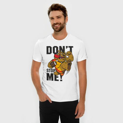 Мужская футболка премиум  Фото 03, Don't Stop Me