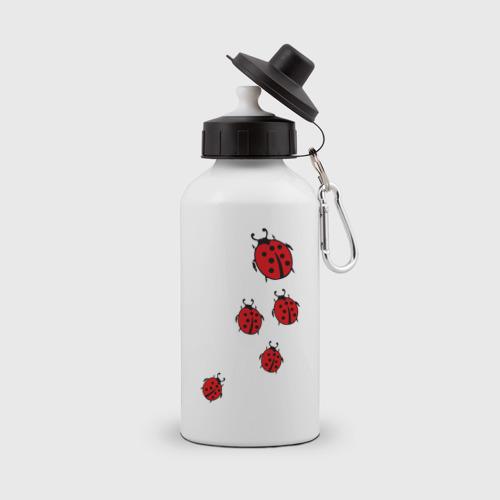 Бутылка спортивная Божьи коровки