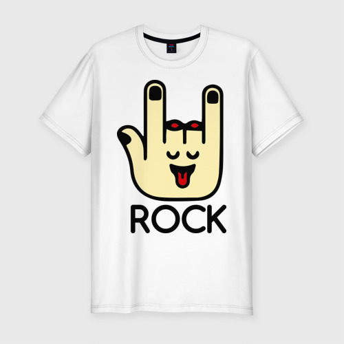 Мужская футболка премиум  Фото 01, Рука рокера