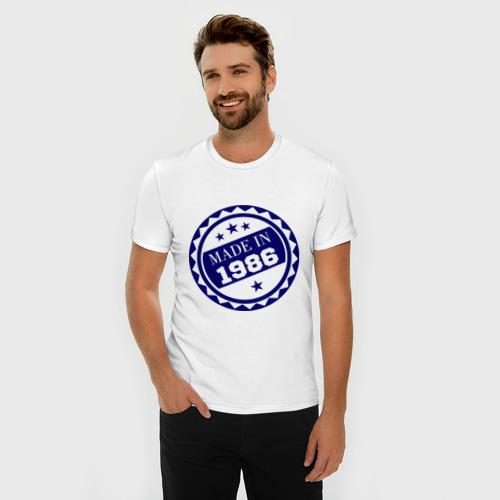 Мужская футболка премиум  Фото 03, Made in 1986