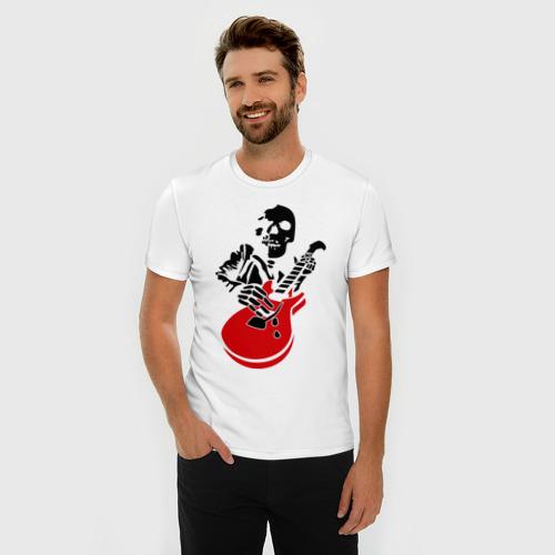 Мужская футболка премиум  Фото 03, Рок до смерти
