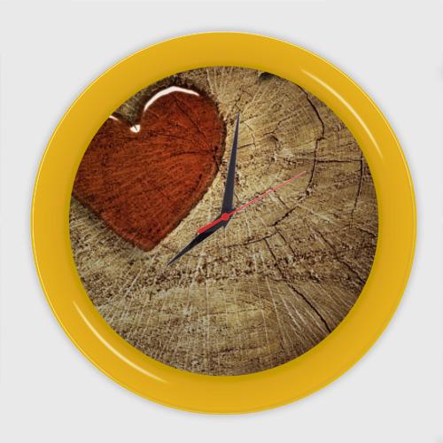 Настенные часы Срез дерева от Всемайки