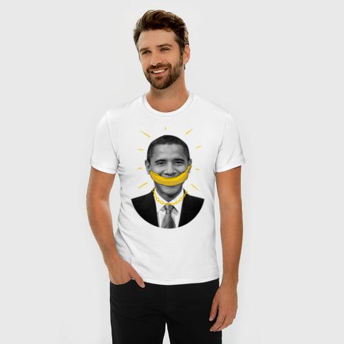 Мужская футболка премиум  Фото 03, Obanana