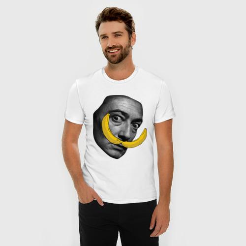 Мужская футболка премиум  Фото 03, Дали