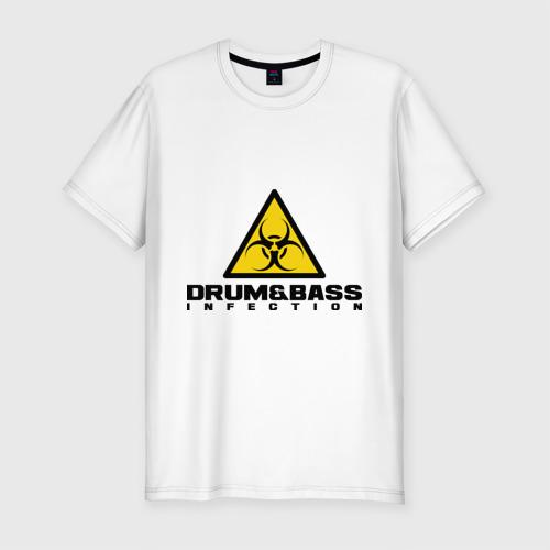 Мужская футболка премиум  Фото 01, Drum&Bass Infection