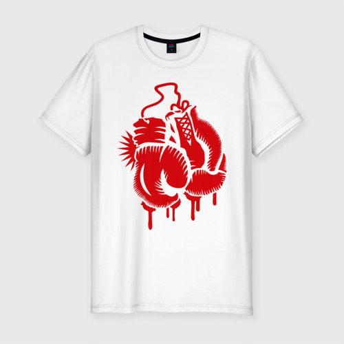 Мужская футболка премиум  Фото 01, Боксерские перчатки