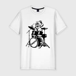 Обезьяна с барабанами