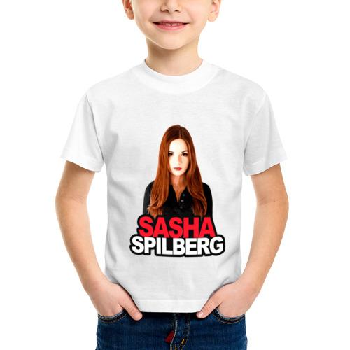 Детская футболка синтетическая Sasha Spilberg от Всемайки