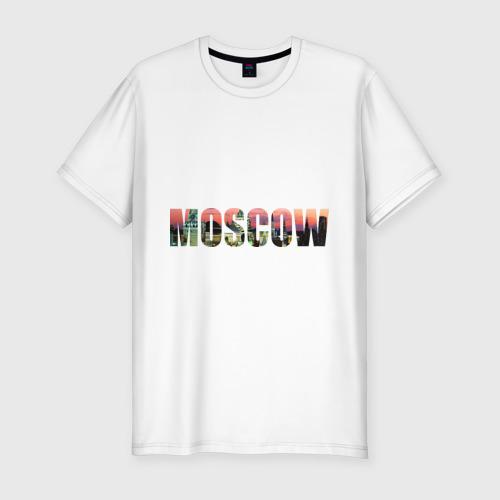 Мужская футболка премиум  Фото 01, moscow