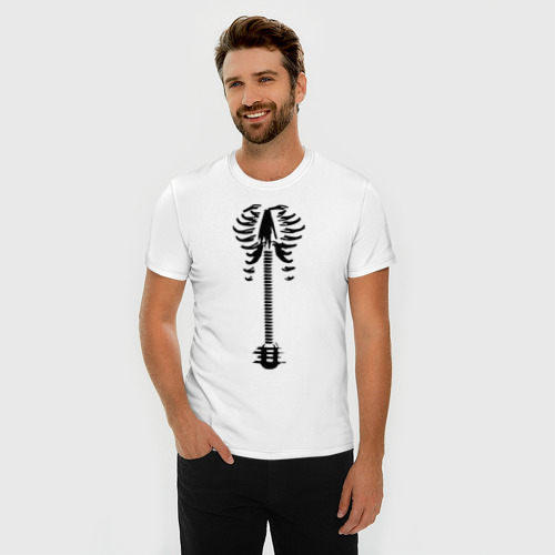 Мужская футболка премиум 'Мертвая гитара'