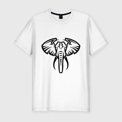 Мужская футболка премиум  Фото 01, Слон тату