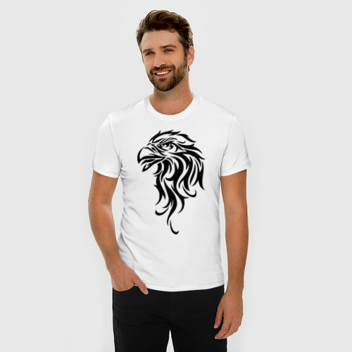 Мужская футболка премиум  Фото 03, Голова орла