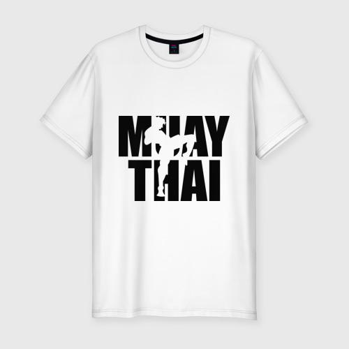 Мужская футболка премиум  Фото 01, Muay thai  (Тайский бокс)