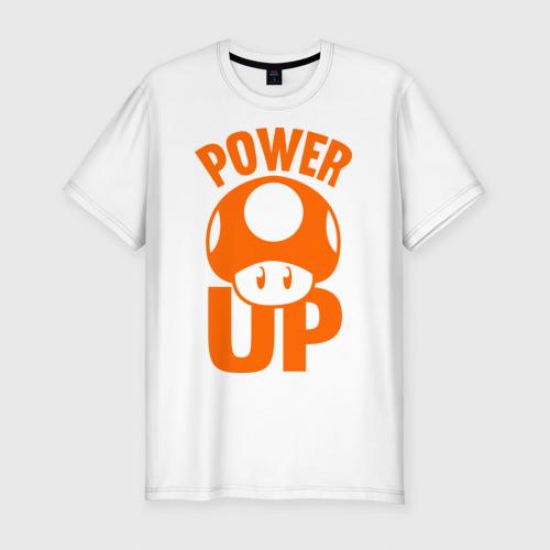 Мужская футболка премиум  Фото 01, Mario power up