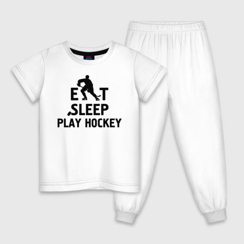 Главное в жизни - есть, спать, играть в хоккей