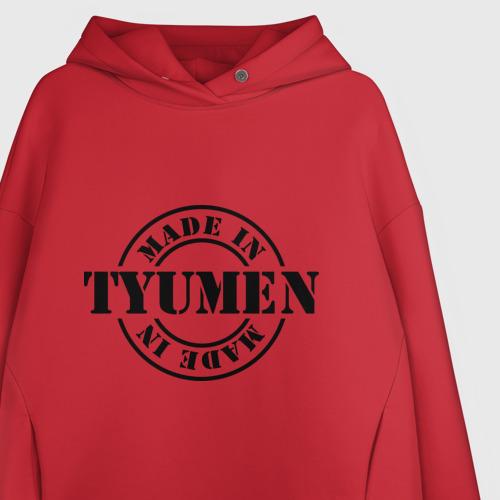 Женское худи Oversize хлопок Made in Tyumen (сделано в Тюмени) Фото 01