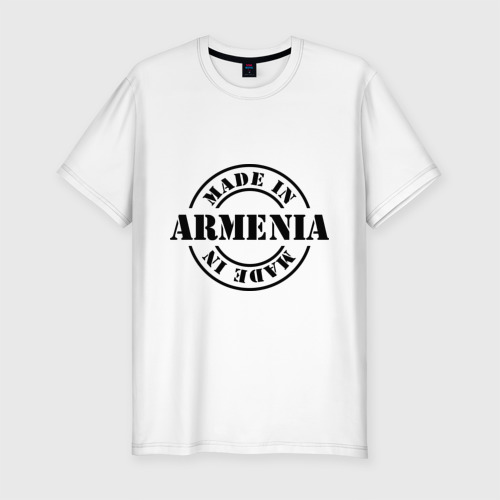 Мужская футболка премиум  Фото 01, Made in Armenia (сделано в Армении)