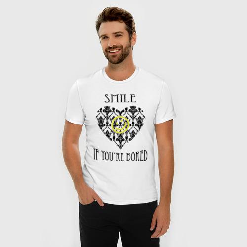 Мужская футболка премиум  Фото 03, Шерлок Сердце Smile