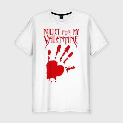Мужская футболка премиум  Фото 01, Любовь Валентин Valentine