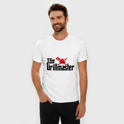 Мужская футболка премиум  Фото 03, The Grillmaster