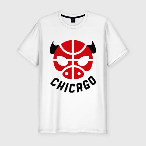 Мужская футболка премиум  Фото 01, Chicago bull