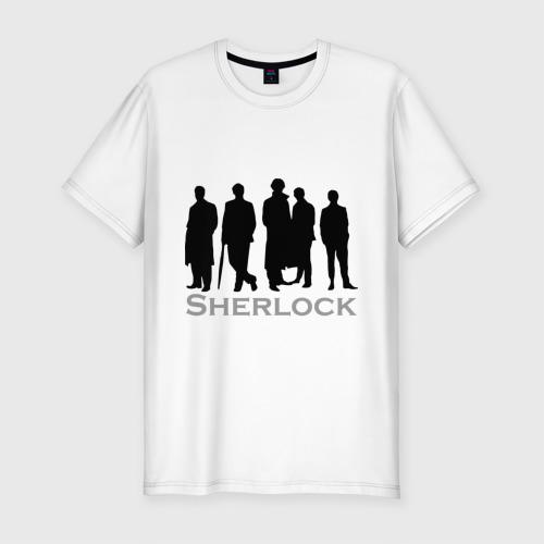 Мужская футболка премиум  Фото 01, Sherlock Band