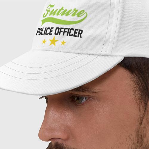 Бейсболка  Фото 01, Будущий офицер полиции