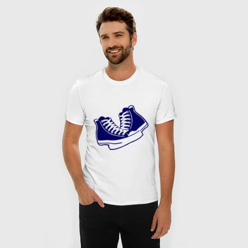 Мужская футболка премиум  Фото 03, Кеды