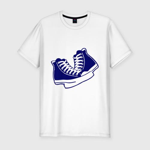 Мужская футболка премиум  Фото 01, Кеды