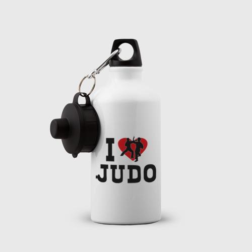 Бутылка спортивная  Фото 03, Я люблю дзюдо