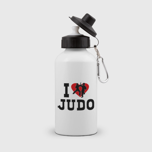 Бутылка спортивная  Фото 01, Я люблю дзюдо