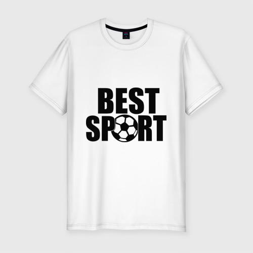 Мужская футболка премиум  Фото 01, Лучший спорт футбол