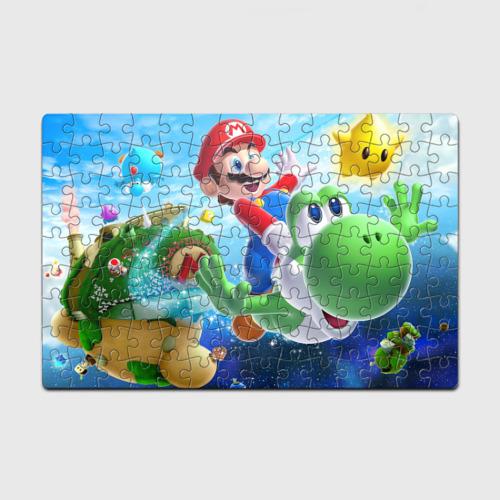 Головоломка Пазл магнитный 126 элементов Super Mario Galaxy 2 (p) Фото 01