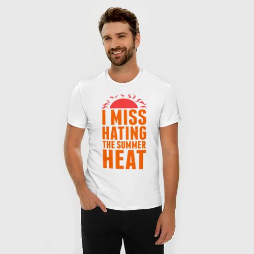 Мужская футболка премиум  Фото 03, Summer heat